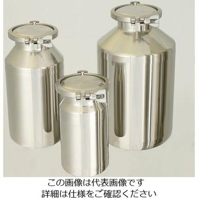 日東金属工業 ステンレス広口ボトル 10L 1個 4-5655-03 (直送品)