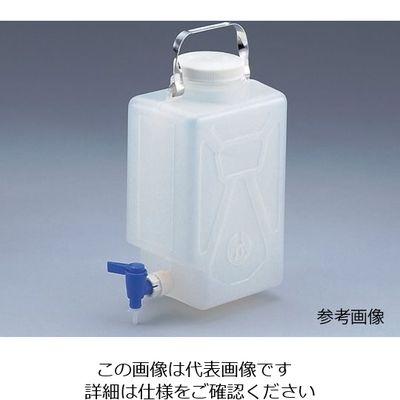 アズワン ナルゲン活栓付角型瓶2321 2ガロン/9L 5ー056ー01 1本 5ー056ー01 (直送品)