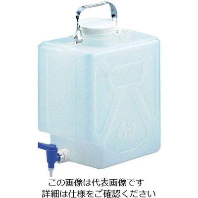 アズワン ナルゲン活栓付角型瓶2321 5ガロン/20L 5ー056ー02 1本 5ー056ー02 (直送品)