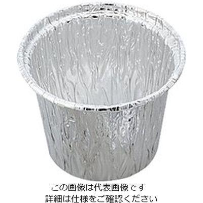 アズワン アルミカップ (100mL) 1箱(100個) 5-075-02 (直送品)