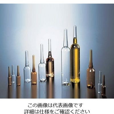 マルエム アンプル管(硼珪酸ガラス製) 5mL 白色 150本入 1箱(150本) 5-124-03 (直送品)