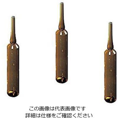 マルエム アンプル管(硼珪酸ガラス製) 50mL 褐色 100本入 1箱(100本) 5-125-06 (直送品)