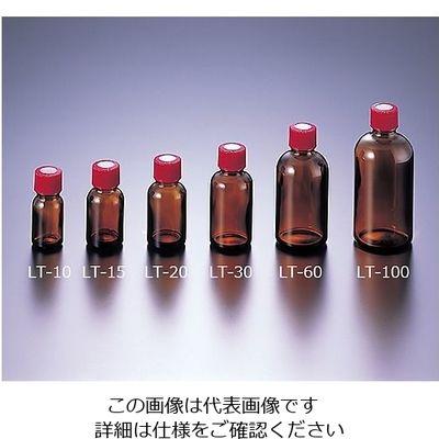 マルエム 細口規格瓶 LT-30 褐色 30mL 100本入 1箱(100本) 5-131-02 (直送品)