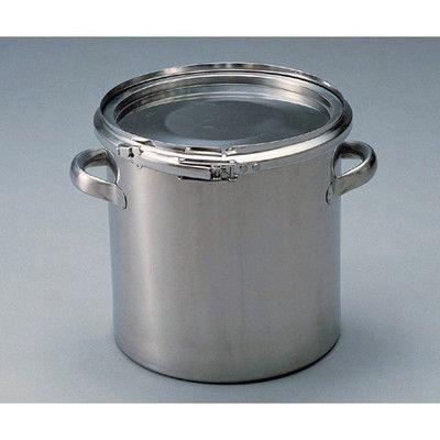 日東金属工業 密閉式タンク バンドタイプ 45L 1個 5-149-11 (直送品)
