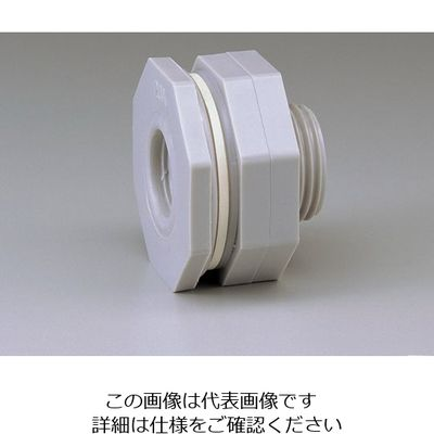 スイコー パイプ接続用フィッティング 2 1/2インチ EPDMパッキン 65A 1個 5-326-05 (直送品)