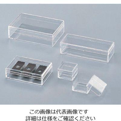 ユニバーサル 非帯電スチロールケース 50×75×19mm 10個入 C-19 1箱(10個) 5-359-03 (直送品)