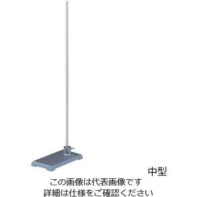 ヤマナカ スタンド(平台) 支柱ステンレス 中型 1台 5-5319-02 (直送品)