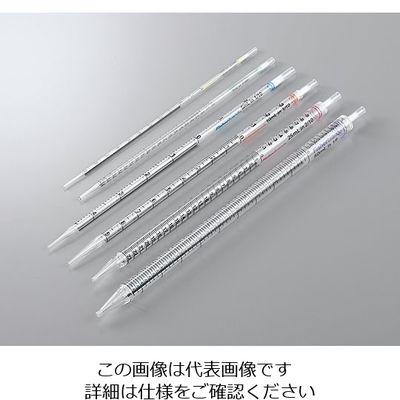 ポリスチレン製ディスポピペット 個包装(オールプラスチックラップ)2mL 500本 5-5354-03 (直送品)