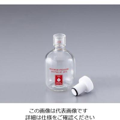 アズワン 耐圧ボトル(ACE GLASS) 125mL 1本 1-1371-02 (直送品)