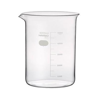 アズワン ビーカー 5000mL 1個 6-214-10 (直送品)