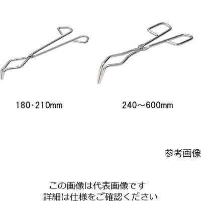 アズワン トングス るつぼ用 360 1本 6-458-05 (直送品)