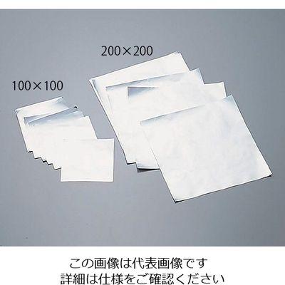 アズワン アルミシート 200×200mm 500入 6ー714ー02 1箱(500枚入) 6ー714ー02 (直送品)