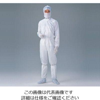 アズワン 無塵衣FD171C男女兼用・ホワイト 3L 6ー7523ー01 1着 6ー7523ー01 (直送品)