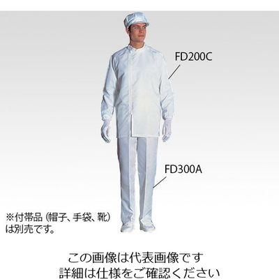 アズワン 無塵衣FD200C 上衣・ホワイト 3L 6ー7527ー01 1着 6ー7527ー01 (直送品)