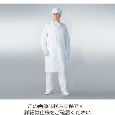 アズワン 無塵衣AS206C男女兼用ホワイト 3L 1着 6-7533-11 (直送品)