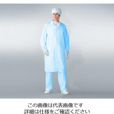 アズワン 無塵衣AS206C男女兼用 ブルー LL 1着 6-7590-02 (直送品)