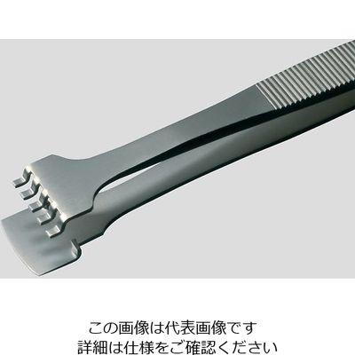 アズワン MEISTERピンセット ウェハー用 41LB8-SA 幅広 耐酸鋼 1本 6-7907-07 (直送品)