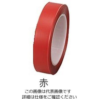 """アズワン クリーンルームカラーテープ 1""""×33赤 6ー8307ー03 1袋(33m入) 6ー8307ー03 (直送品)"""