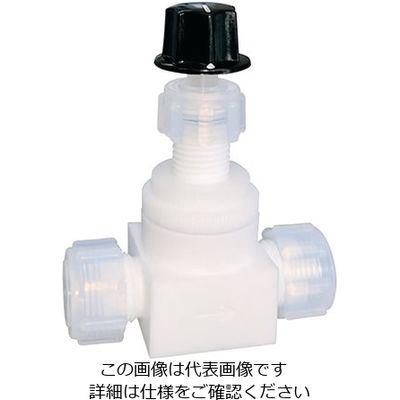 アズワン 水平型ニードルバルブ IN-10 1個 7-278-07 (直送品)