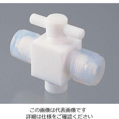 アズワン YK接続2方コック 12mm 1個 7-286-04 (直送品)