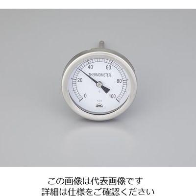 アズワン バイメタル温度計 MSー6611 2ー3226ー01 1個 2ー3226ー01 (直送品)