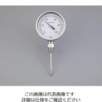 アズワン バイメタル温度計 センサー形状:L 1個 2-3226-03 (直送品)