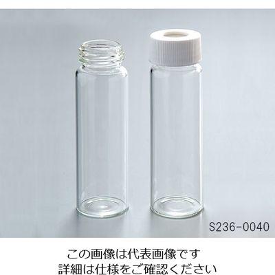 アズワン 飲料水分析用バイアル(I-CHEM) S336-0040 クラス300 厚板セプタム 72本入 1箱(72本) 1-1374-01 (直送品)