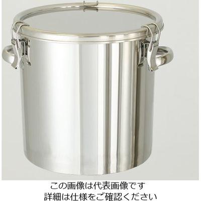 日東金属工業 コンパクト収納 テーパー型ステンレスタンク 150L 1個 6-7055-10 (直送品)