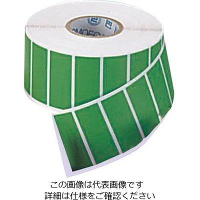 アズワン カラーラベル CLー1 緑 1000枚入 6ー698ー06 1巻(1000枚入) 6ー698ー06 (直送品)