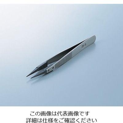 アズワン ファイバーチップピンセット 258-SA 極細 PEEK 1本 6-6968-03 (直送品)