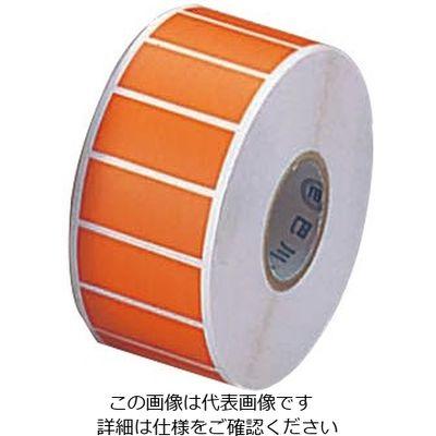 アズワン カラーラベル CLー1 橙 1000枚入 6ー698ー04 1巻(1000枚入) 6ー698ー04 (直送品)