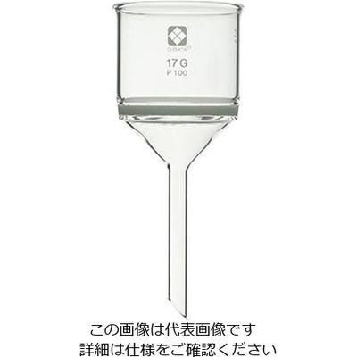柴田科学 ガラスろ過器(円筒ロート形)140mL 40~100μm 1個 1-4384-06 (直送品)