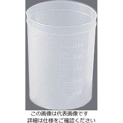 アズワン ディスポカップ(ブロー成形) 1000mLケース 100個入 1箱(100個) 1-4659-16 (直送品)