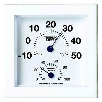 Lemnos ミニ温湿度計 ブルー