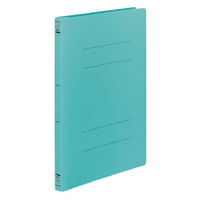 コクヨ フラットファイルPP樹脂製とじ具 A4縦 緑 フ-H10G 1セット(100冊:1冊×100)