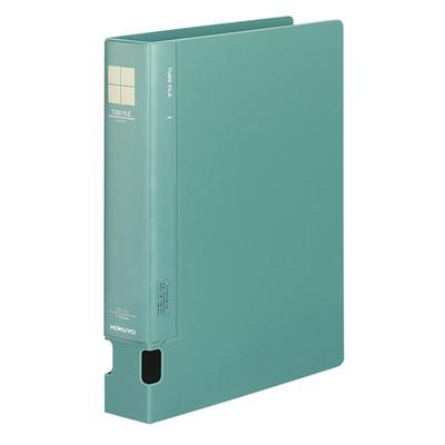 コクヨ チューブファイルPP A4タテ とじ厚40mm 2穴 緑 1セット(16冊:1冊×16)