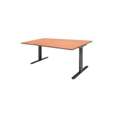 Garage(ガラージ) GTシリーズ T字脚テーブル GT-189H 木目 幅1800×奥行900×高さ720mm 1台 (直送品)