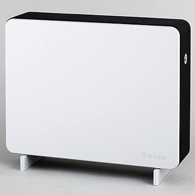 @aroma(アットアロマ) プロフェッショナルディフューザー オールインワンタイプ ブラック PAO-BK000 1台 (直送品)