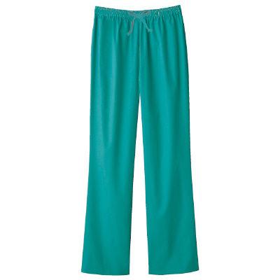 フォーク スクラブパンツ カラーパンツ(男女兼用) 6003SC-4 グリーン 3L (取寄品)