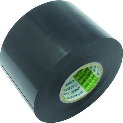 日東電工 日東 脱鉛タイプビニールテープNo.21 50mm×20m 4巻入り 黒 21R50 1セット(4巻:4巻入×1パック) 126ー2408 (直送品)