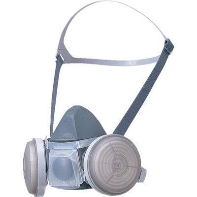 SHIGEMATSU WORKS(重松製作所) 取替え式防じんマスク M/L DR22RML 1個 293-4167 (直送品)