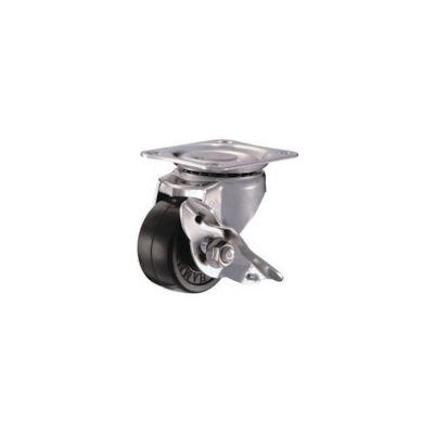 ハンマーキャスター ハンマー オールステンレス S型自在 SP付 ゴム車50mm 315SRD50BAR01 1個 242ー1577 (直送品)