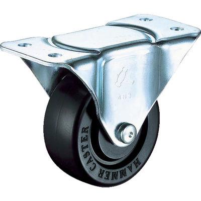 ハンマーキャスター(HAMMER CASTER) Gシリーズ440タイプ固定ゴム車125mm 440R-R125-BAR01 1個 367-1674 (直送品)