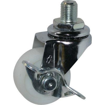 ハンマーキャスター(HAMMER CASTER) Aシリーズ自在SP付ナイロン車40mm 415A-10N40-BAR01 1個 367-0473 (直送品)