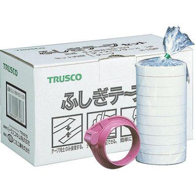 トラスコ中山(TRUSCO) ふしぎテープ 幅18mmX長さ50m 10巻入 GJ18W-50-10V 1セット(500m) 213-0246 (直送品)