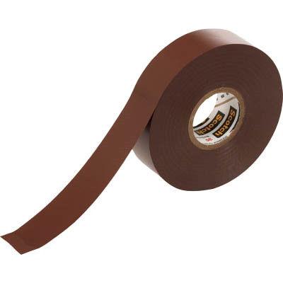 スリーエム ジャパン(3M) ビニールテープ 35 茶 19mmX20m 35 BRO 1巻(20m) 327-6490 (直送品)