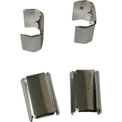 ユタカメイク(Yutaka) 金具 端末爪 6mm×10.5mm 4個入り KM-02 1袋(4個) 367-5688 (直送品)