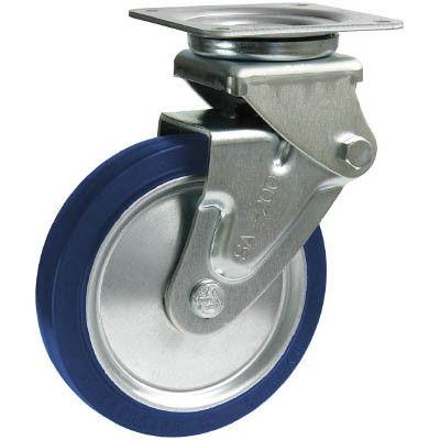 シシクSISIKUアドクライス 緩衝キャスター 自在 150径 スーパーソリッド車輪 SAJ-HO-150SST 1個 353-5215 (直送品)