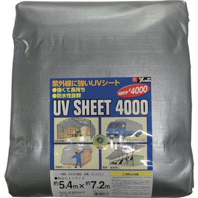 ユタカメイク(Yutaka) シート #4000シルバーシート 5.4×7.2 SL40-14 1枚 367-7311 (直送品)