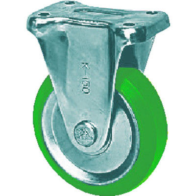 シシクSISIKUアドクライス スタンダードプレスキャスター ウレタン車輪 固定 150径 UWK-150 1個 504-9334 (直送品)